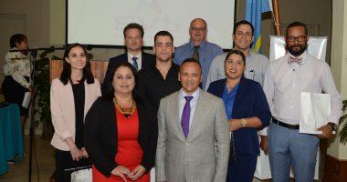 Insector General mr. Dorylee Lopez-Penha, Dokters SVb & directeur ir. Edwin Jacobs